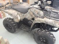 2015 Yamaha Grizzly 700 FI EPS Realtree AP HD Camouflage