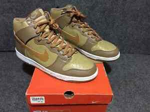Nike Dunk High, Hay/Maple-Taupe, Size 12 US, $100 CAD