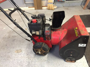 "Snow Blower Noma 5hp23"" With Electric Start"