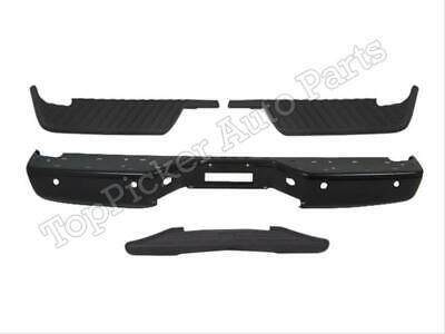 NI1102152 For 04-14 Titan Rear Bumper Blk Face Bar Top Center Pad W/ Sensor Hole