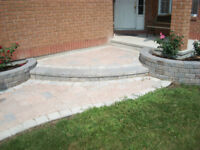 Landscaping,Interlocking, with hard to beat rates