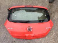 Vauxhall Corsa D 3 door tailgate