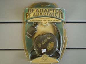 playstation 1 & 2 RF adapter de madcatz (neuf)