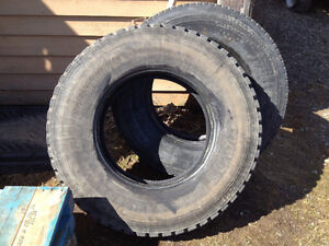 Bridgestone 12R24.5 tires