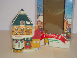 Dickensville Lighted Apothecary