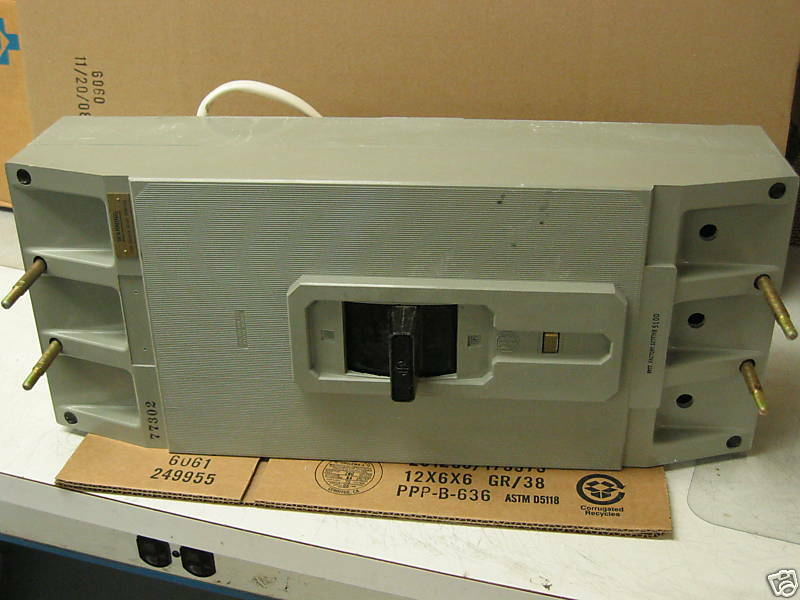 800 AMP GOULD NAVY CIRCUIT BREAKER # ETN-8300 NEW