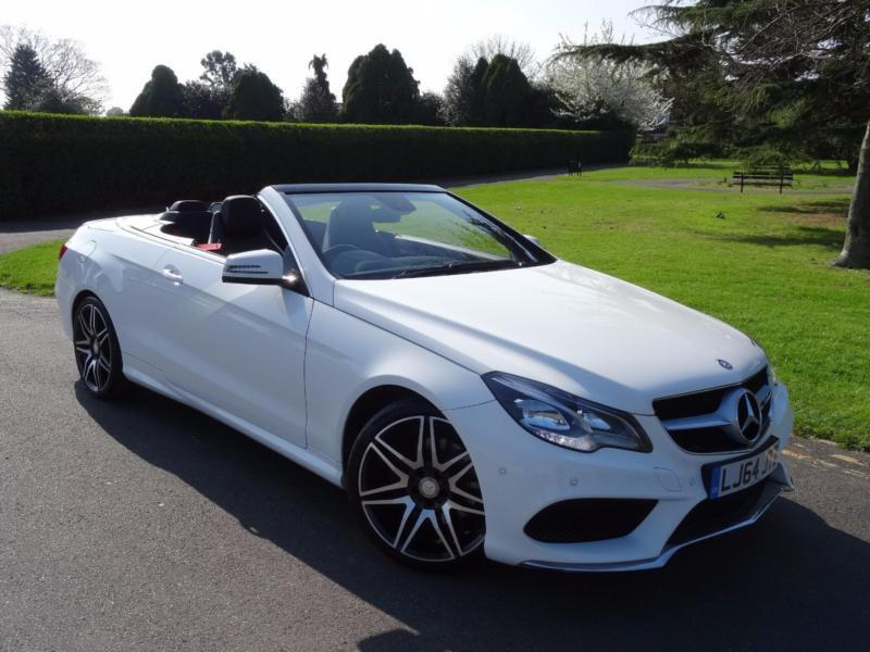 mercedes e class e220 cdi amg sport plus cabriolet 2014 64 in redbridge london gumtree. Black Bedroom Furniture Sets. Home Design Ideas