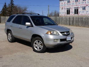 2006 Acura MDX AWD Fully loaded with Tech Premium Package. Clean
