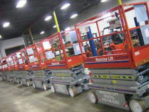 SKYJACK RENTAL Electric Scissor Lift Forklift Fork JLG Genie