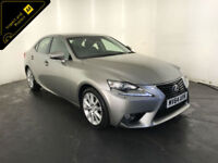 2014 64 LEXUS IS 300H EXECUTIVE EDITION HYBRID 4 DOOR SALOON FINANCE PX WELCOME