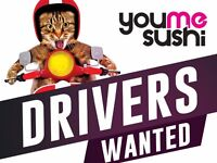 Motorbike delivery drivers £9/h