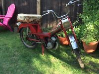 Mobylette 1975 barn find