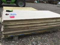 Timber ply external NEW boards.