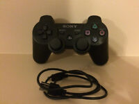 Brand New Playstation 3 Dualshock 3 Control with Charge Cable