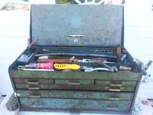 Tool Stand with Assortment of Tools and Boxes Kawartha Lakes Peterborough Area image 2