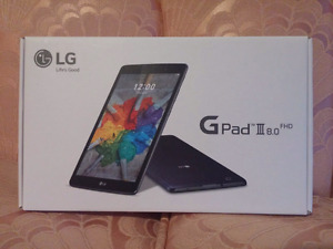 "*NEW* LG G Pad 3 8"" 16GB LTE Tablet Freedom/Wind Compatible"