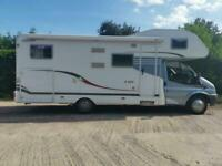 2008 CARADO A-464 6 BERTH 17000 MILES LARGE GARAGE