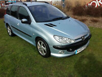 Peugeot 206 SW 2.0HDi D Turbo Estate PX Swap UK Delivery