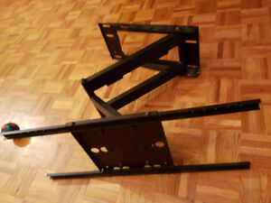 """TV Wall-Mount 86"""" to 35"""" Swivel and extendable,  Heavy-Duty"""