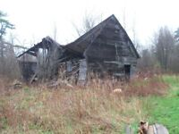 Old Barn to be torn down
