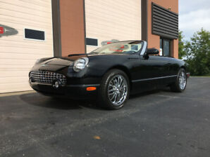 2002 Ford Thunderbird Convertible ALL ORIGINAL ONLY 10,580 KM'S