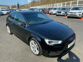 image for 2013 13 AUDI A3 1.6TDI S LINE 104bhp Diesel S-Tronic Auto Met Black, leather