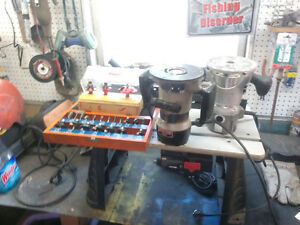 router table, routers and bits