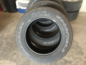Set of Goodyear Wrangler SR-A **Almost New** 275 60R20