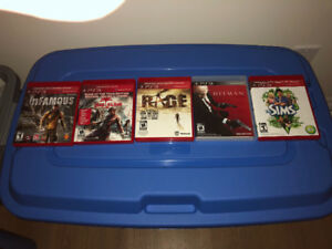 Mint condition  PS3 games (for all 5)