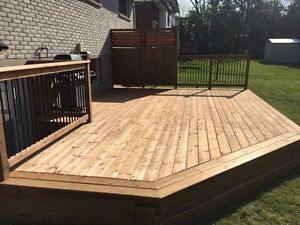 Looking for a deck or handyman?