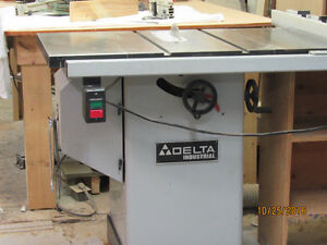 industrial table saw [Delta]