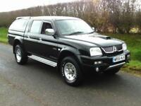 2005 MITSUBISHI L200 2.5TD TROGAN 4X4 DOUBLE CAB PICK UP, AIRCON, ALLOYS
