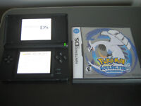 Nintendo DS with Pokemon Silver