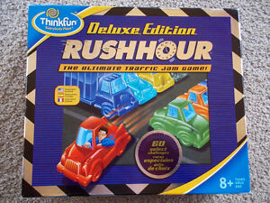 Rush Hour Deluxe-Solitaire Brain game