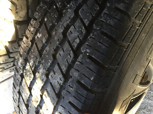 Tires and rims from a Chevy Vandura London Ontario image 3