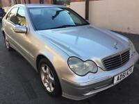 NOT AVAILABLE AT THE MOMENT..MERCEDES C220 CDi AUTO AVANTGARDE..11 MONTHS MOT