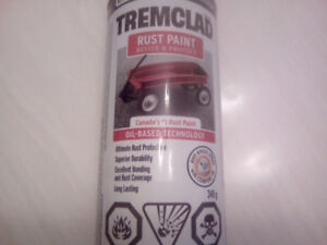 Wanting your left over rust paint