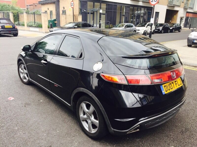honda civic 2007 5 door ishift auto low mileage in canary wharf london gumtree. Black Bedroom Furniture Sets. Home Design Ideas