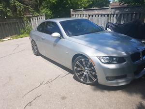 2007 Bmw 335i convertible 6 speed manual