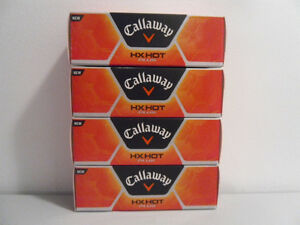"NEW CALLAWAY ""HX HOT PLUS"" GOLF BALLS FOR SALE"