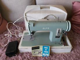 Vintage Alfa Electric Sewing machine