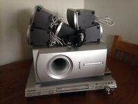 Panasonic 5.1 surround cinema DVD player & speakers