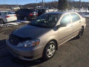 2003 TOYOTA COROLLA BASE CLEAN!! CERTIFIED!!