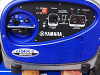 YAMAHA GENERATOR EF2400 20 HOURS *  78 POUNDS