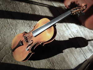 STAINER 4/4 VIOLIN signed by Carl Vulzar
