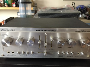 Vintage Pre amplificateur Marantz 3250b, excellent condition – 7