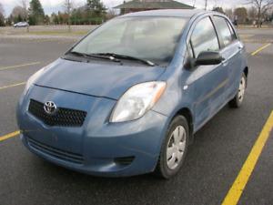 2007 Toyota Yaris hatchback Blue, low km