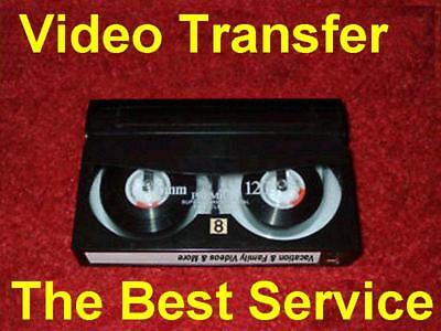 Hi8 Hi-8 Video8 Digital8 MiniDV Convert Film Video HD Transfer to DVD