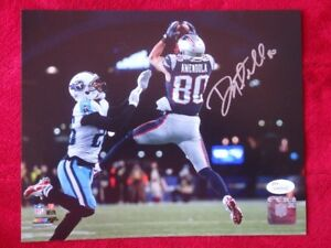 Danny Amendola New England Patriots Signed 10x8 Photo