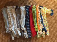 0-3 baby grows